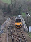 Liskeard Viaduct - FGW 150108 down train.JPG