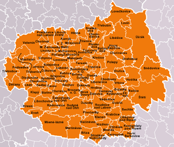 Municipalities of Litoměřice District