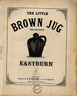 Little Brown Jug (song) Song