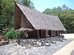 Little world, Aichi prefecture - House of Yap in Micronesia.jpg