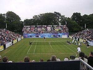 Calderstones Park - Calderstones Park's tennis court