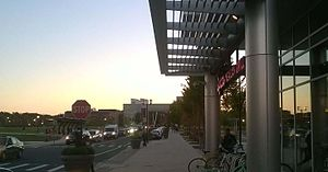 Livingston Campus (Rutgers University) - Image: Livi From The Lots