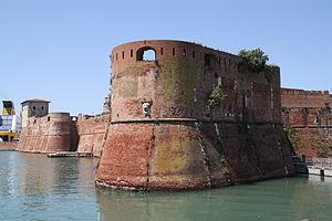 Livorno Fortezza Vecchia bastione della Ampolletta 01 @chesi