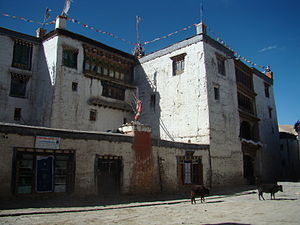 Lo Manthang - Image: Lo Manthang Royal Palace