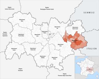Lage des Savoie