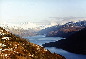 Loch Lomond - Loch Lomond from just below Beinn Dubh and Creag an t-Seilich