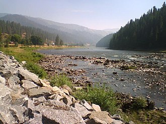 National Register of Historic Places listings in Clearwater County, Idaho - Image: Lochsa River