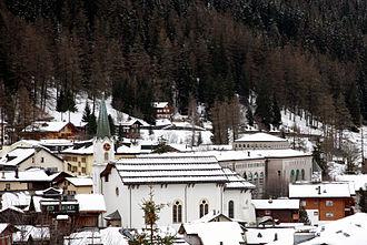 Leukerbad - Leukerbad village