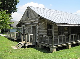 Hernando, Mississippi - Image: Log House Hernando MS 03