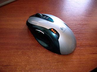 Logitech - A Logitech G7 mouse