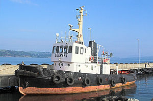 Tugboat Lokraft, Oslo, Norway