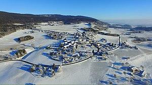 Longirod - Logirod, aerial view