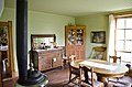 Looking S from entry hall into dining room - Tinsley Living Farm - Museum of the Rockies - 2013-07-08.jpg
