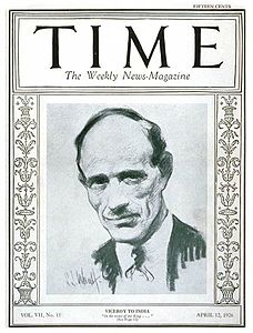 Lord Irwin on TIME Magazine, April 12, 1926.jpg