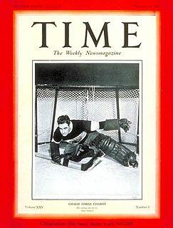 Lorne Chabot Canadian ice hockey player