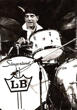 Slingerland Drum Company - Louie Bellson in 1980.