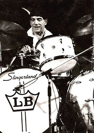 Louie Bellson - Bellson playing in 1980