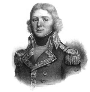 Action of 18 August 1798 - Commodor Louis-Jean-Nicolas Lejoille, portrait by Antoine Maurin.