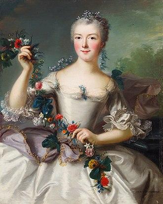 Charles Marie Raymond d'Arenberg - His wife, Louise Margarete de la Marck-Schleiden, countess of Vardes