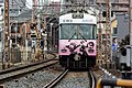 Love, Chunibyo & Other Delusions -Heart Throb- on Keihan Ishiyama Sakamoto Line 20150215.jpg