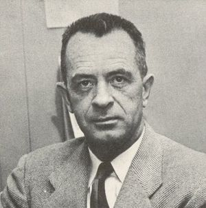 Red Dawson - Dawson pictured in The 1954 Owl, Pittsburgh yearbook