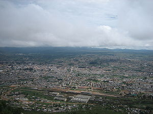 Lubango - Panoramic view