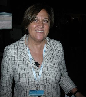 English: Lucia Annunziata, italian journalist....