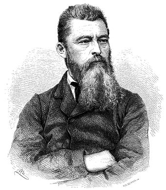 Ludwig Feuerbach's The Essence of Christianity (1841) would greatly influence philosophers such as Engels, Marx, David Strauss, Nietzsche, and Max Stirner. He considered God to be a human invention and religious activities to be wish-fulfillment. For this he is considered the founding father of modern anthropology of religion. Ludwig Andreas Feuerbach.jpg