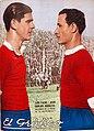 Luis Fazio y Juan Carlos Corazzo (Independiente) - El Gráfico 770.jpg