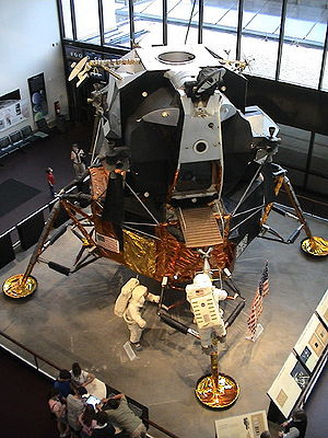 Thomas J. Kelly (aerospace engineer) - Kelly led the team at Grumman that designed and built the Lunar Module (LM2 shown)