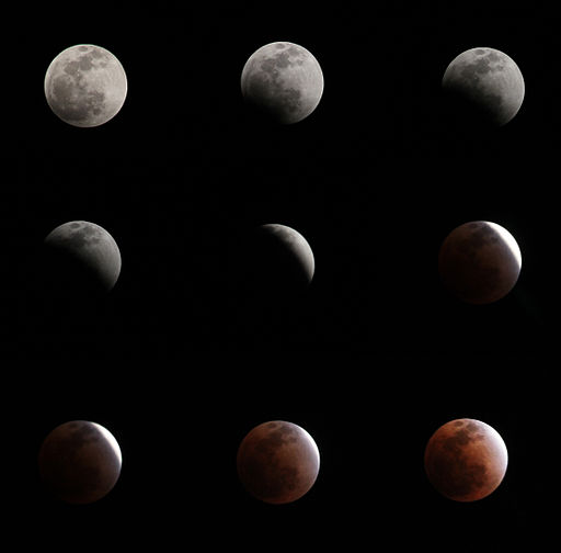 Lunar eclipse-Bangkok-10Dec2011