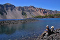 Lunch at Fumarole Bay Crater Lake.jpg