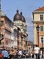 Lviv, Kostel Proměnění, ulice.jpg
