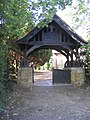 Lychgate, Great Warley Parish Church - geograph.org.uk - 54463.jpg