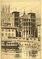Lyon, Cathédrale Saint-Jean - gravure de Charles Pinet.jpg