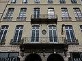 Lyon 2e - Place Bellecour, immeuble au numéro 3, plaque.jpg