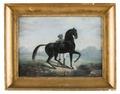 Måleri. Hästporträtt. Godsven - Skoklosters slott - 87333.tif