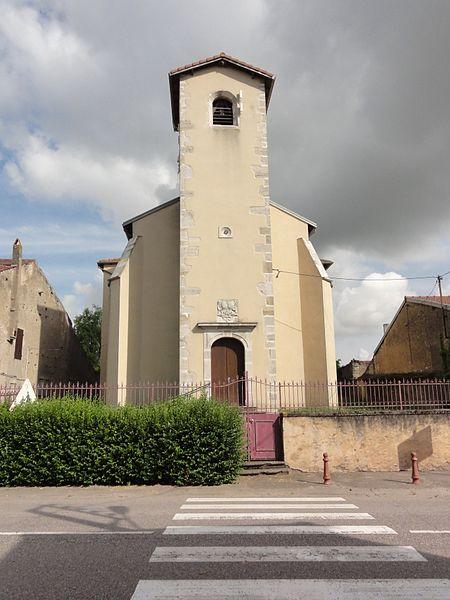 Méhoncourt (M-et-M) église