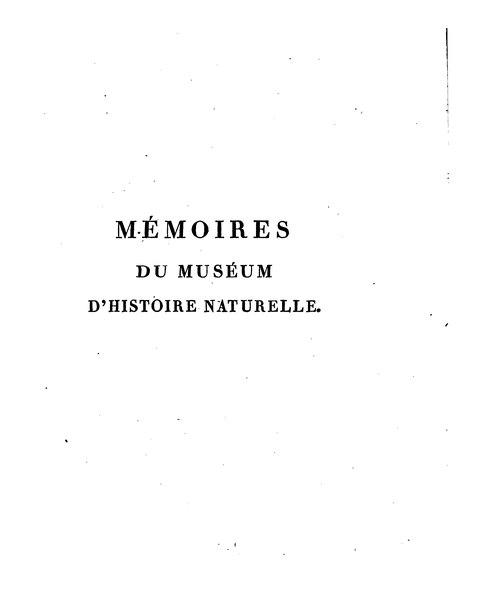 File:Mémoires du Muséum d'histoire naturelle - Volume 8.djvu