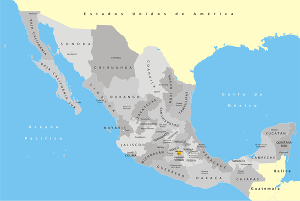 Meksiko 600px-México_División_Política_con_nombres