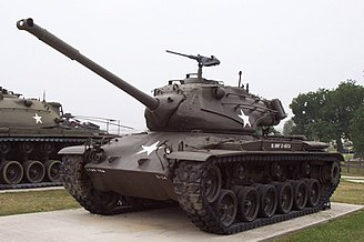 M47 Patton - M47 Patton on display