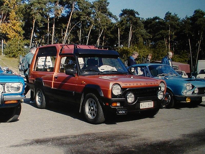 MATRA RANCHO 1978