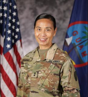 Esther Aguigui Guam Adjutant General