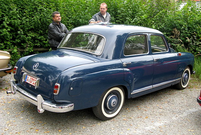 Mhv mercedes benz w120 1953 for Mercedes benz 640