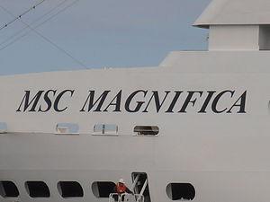 MSC Magnifica Name Tallinn 15 August 2012.JPG
