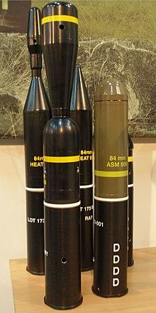Carl Gustaf Recoilless Rifle Wikipedia