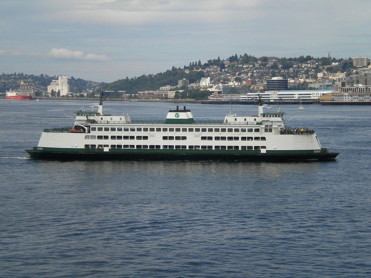 Px Mv Kitsap Arriving In Seattle