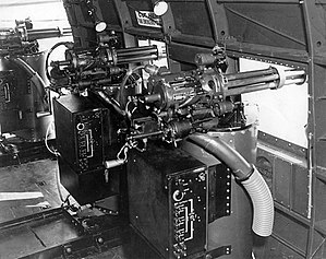 Douglas AC-47 Spooky - MXU-470/A minigun modules in an AC-47