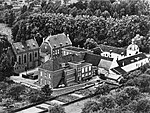 Maastricht-Amby, luchtopname Hiuze Severen, ca 1960-65.jpg