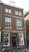 foto van Hoekhuis met smalle lijstgevel.